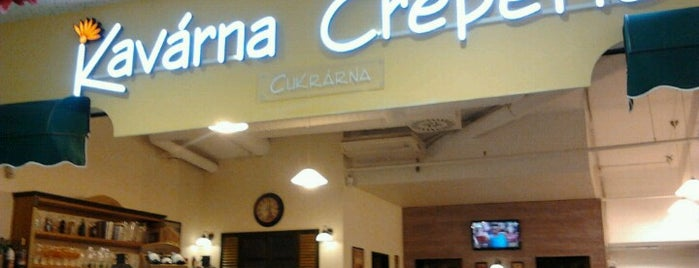 Kavárna Creperie is one of Snobka.cz.