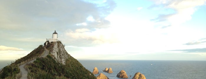 Nugget Point Lighthouse is one of Far Far Away.