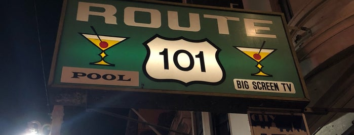 Route 101 Bar & Beverage is one of SF Bars.