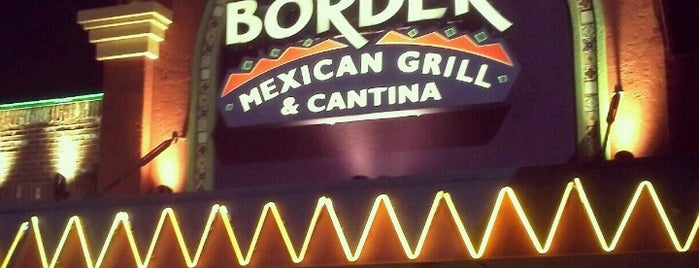 On The Border Mexican Grill & Cantina is one of ATL faves.