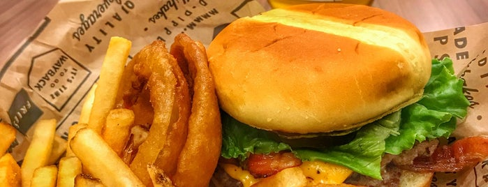 Wayback Burgers is one of Round Rock.