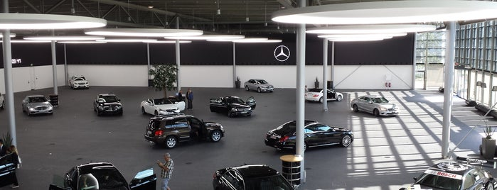 Mercedes-Benz Kundencenter is one of Try again list.
