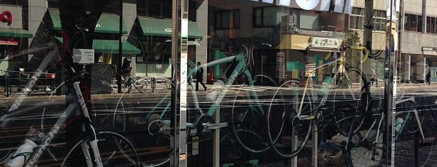 Bianchi Concept Store is one of 東京散策♪.