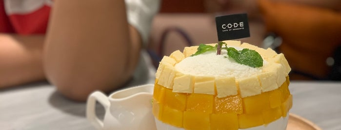 Code - Cafe Of Dessert Enthusiasts is one of Bangkok.