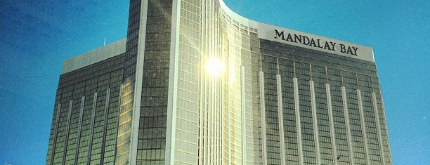 Mandalay Bay Resort and Casino is one of #CES2014.