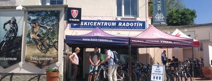 Ski a Bike Centrum Radotín is one of Tempat yang Disukai Veronika.