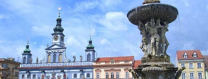 České Budějovice is one of Veronicaさんのお気に入りスポット.