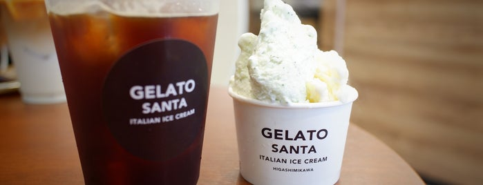 Cafe & Sweets Gelato Santa is one of Hideoさんのお気に入りスポット.