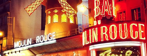 Moulin Rouge is one of Bonjour Paris.