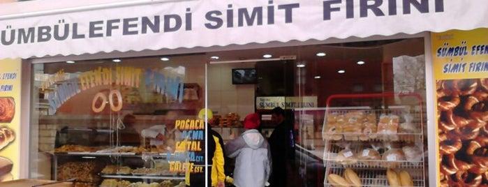 Tarihi Sümbül Efendi Simit Fırını is one of HeiHakan'ın Beğendiği Mekanlar.