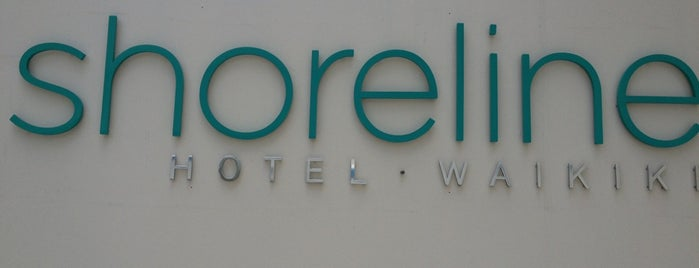 Shoreline Hotel Waikiki is one of Chloeさんのお気に入りスポット.