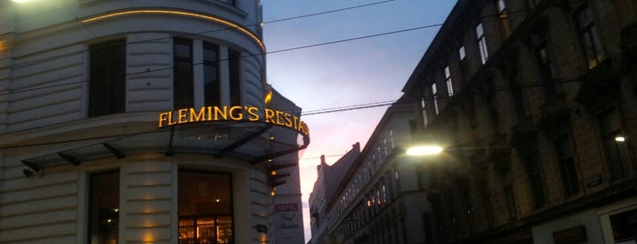 Fleming's Deluxe Hotel Wien-City is one of Teresa : понравившиеся места.