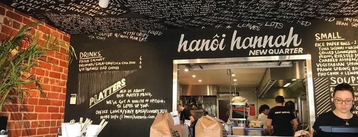 Hanoi Hannah is one of Lieux qui ont plu à David.