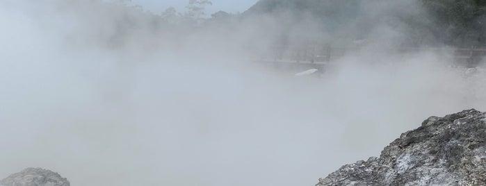 Kawah Sikidang is one of Beautiful Dieng.
