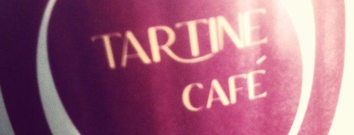 Tartine Cafe is one of Drew 님이 저장한 장소.