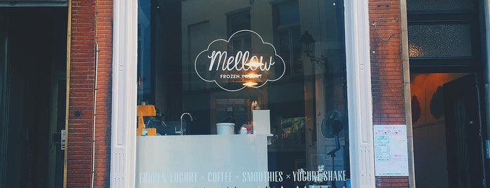 Mellow - Frozen Yogurt is one of Lieux qui ont plu à Anda.