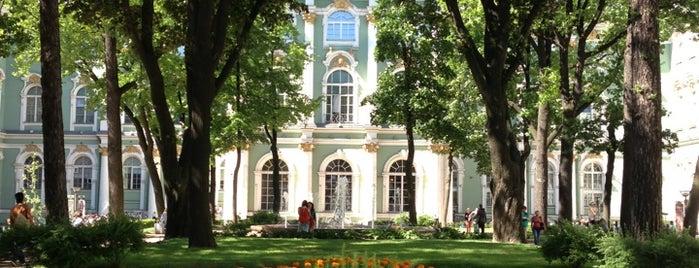 Внутренний двор Зимнего дворца is one of Lugares favoritos de Daniil.