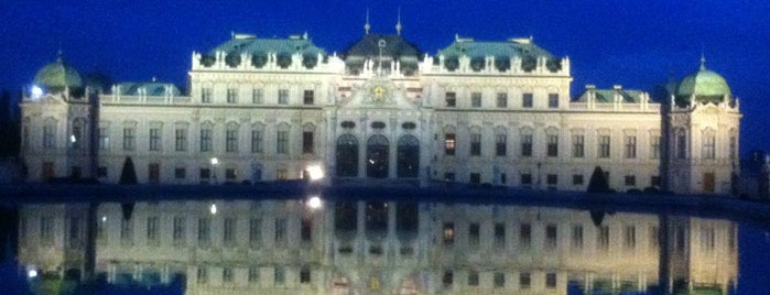 Oberes Belvedere is one of VIENNA TO DO LIST.