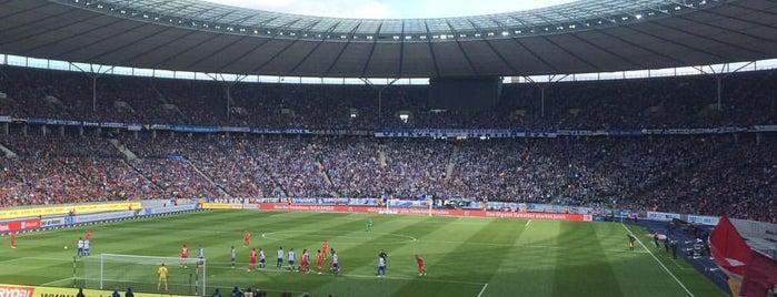 Olympiastadion is one of 4sq365de (1/2).