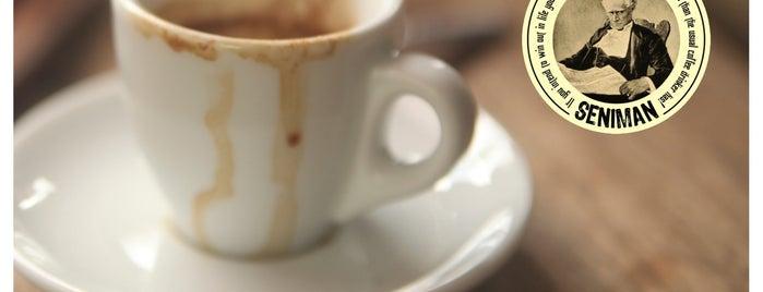 Seniman Coffee Studio is one of Где поесть в Убуде.