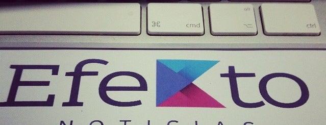 Estrategia Digital Efekto Noticias is one of Tempat yang Disukai Roberto.