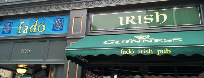 Fado Irish Pub is one of Chicago.