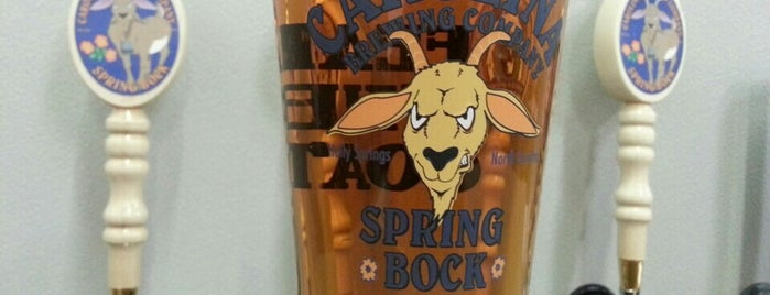 Carolina Brewing Company is one of Triangle Craft Beer.