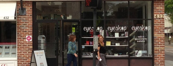 Eye Shop is one of Stores.