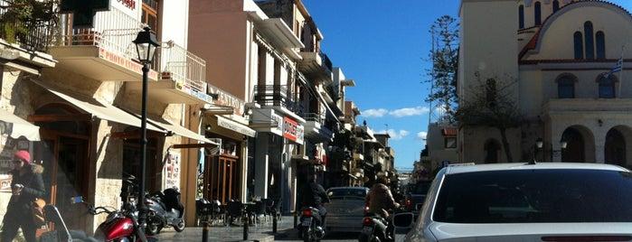 Πλατεία Τεσσάρων Μαρτύρων is one of Posti salvati di Argyri.