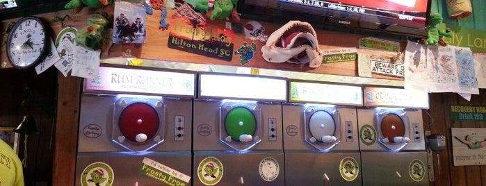 The Frosty Frog Pizza & Daiquiri Bar is one of Hilton Head & Savannah.
