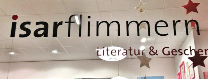 Isarflimmern - Literatur & Geschenke is one of books of munich.