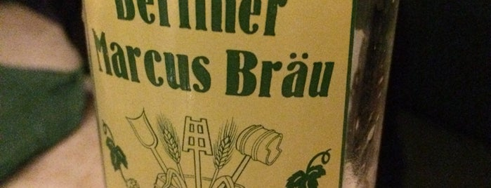 Marcus-Bräu is one of Berlin 2018.