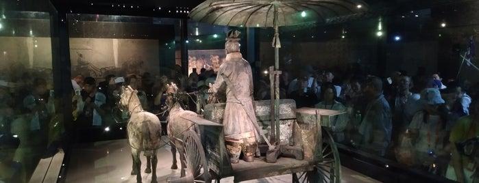 Copper Horse Horse Pavilion 銅車馬展館 is one of Lugares favoritos de M.