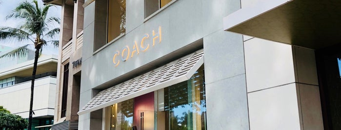 Coach is one of Hawaii Omiyage.