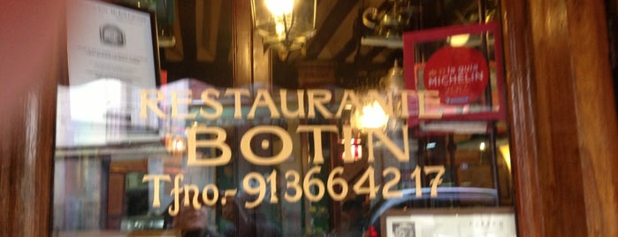 Botín is one of Madrid: Restaurantes +.
