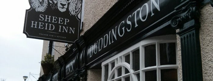 The Sheep Heid Inn is one of The #AmazingRace 22 map.