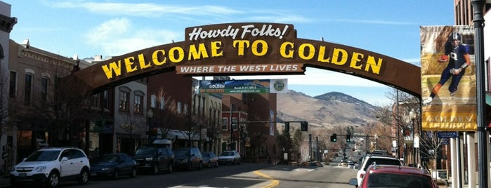 Golden, CO is one of Denver.