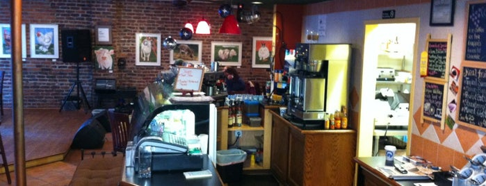BeanRunner Cafe is one of westchester.