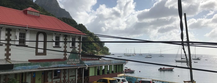 Waterfront De Belle View Restaurant and Bar is one of Sublime St. Lucia.