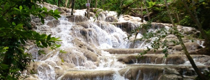 Dunn's River Falls is one of Jamaica.