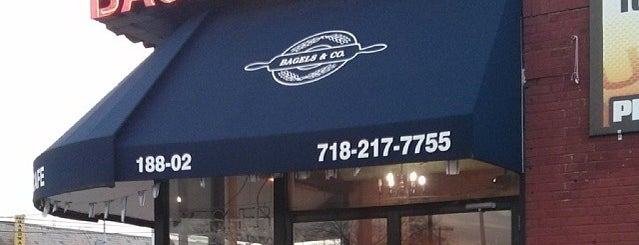 Bagels & Co. is one of Lugares favoritos de David.