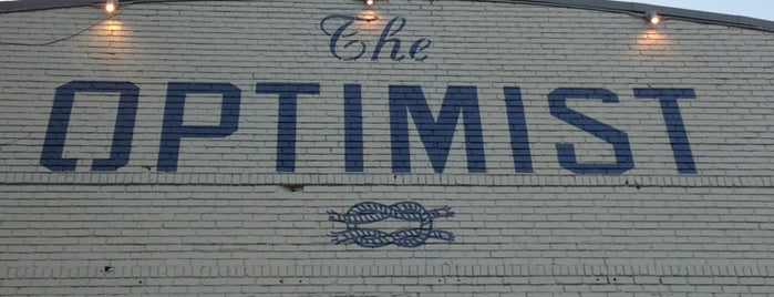 The Optimist is one of Restaurant recommendations.