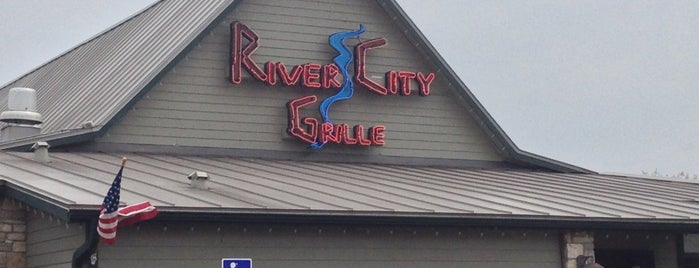 River City Grille is one of Favorite places to eat....