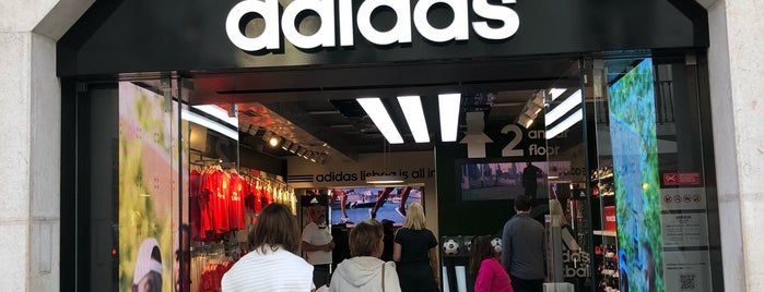 Adidas Store is one of Portugal Road trip.