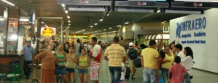 Aeroporto Internacional de Manaus / Eduardo Gomes (MAO) is one of สนามบินนานาชาติ (1).