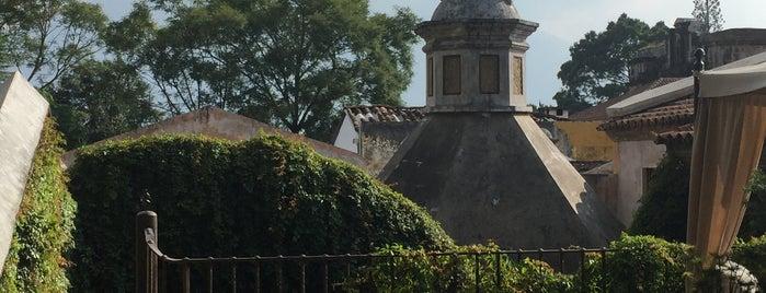El Convento is one of Antigua :: Guatemala.