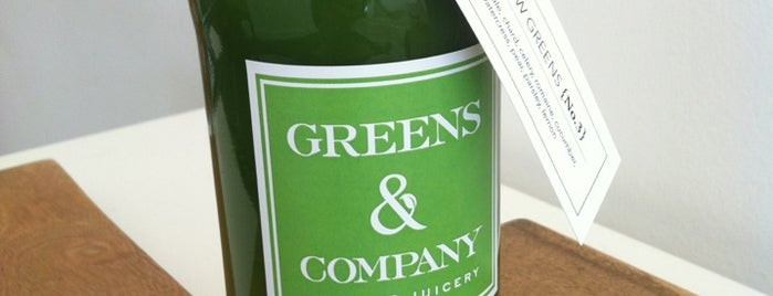 Greens & Company is one of San francisco CA.
