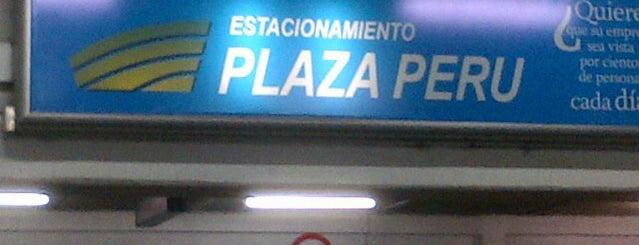 Estacionamientos Plaza Perú is one of Tempat yang Disukai Beluso.