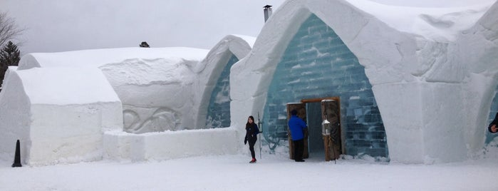Hôtel de Glace is one of Canada | Unique Stays.