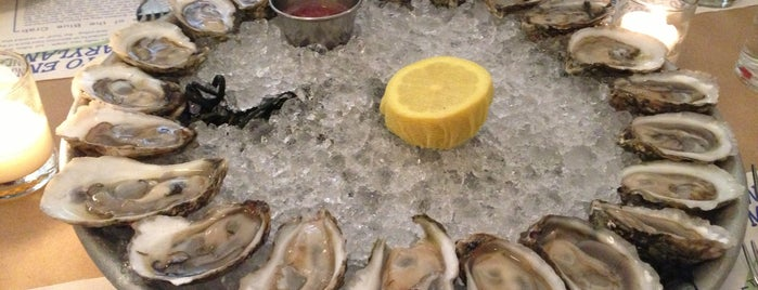 Mermaid Oyster Bar is one of New York Oysters.